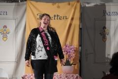 Michaela Hafner im Gasthaus Edbauer mit ihrem Programm
